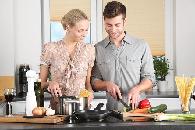 vaření ve dvou