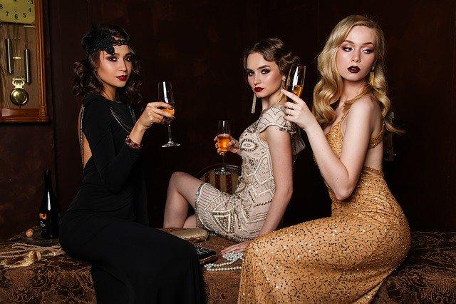 ženy, vintage moda