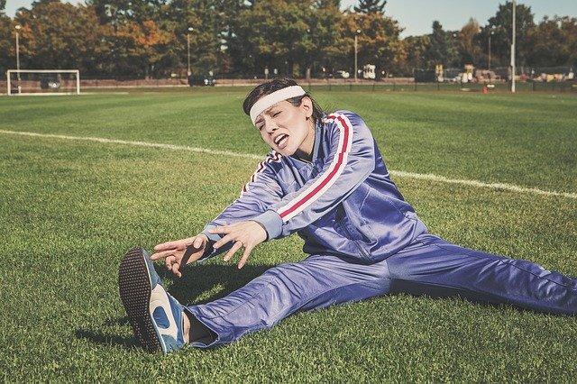 Vysílení těla sportem